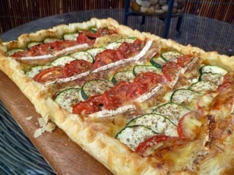 Queseria Collera -  Tarta de calabacin, tomate y queso Vidiago - Quesería Vidiago Collera